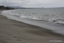 Doheny State Beach - Rainy Day looking South towards San Clemente