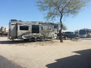 My Camp at Buckeye, AZ