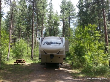 Getting Lolo Camp Set-Up - Home for the week