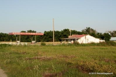 Gas Station in Disrepair