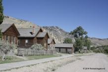 Bannack State Park Church and Homes