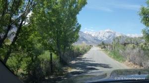 Narrow road to Tuttle Creek