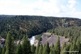 The Lower Mesa Falls below