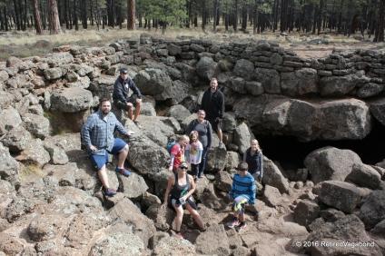 Exploring the Lava Tubes - Flagstaff