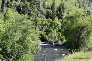 Provo River near Bridal Falls Utah