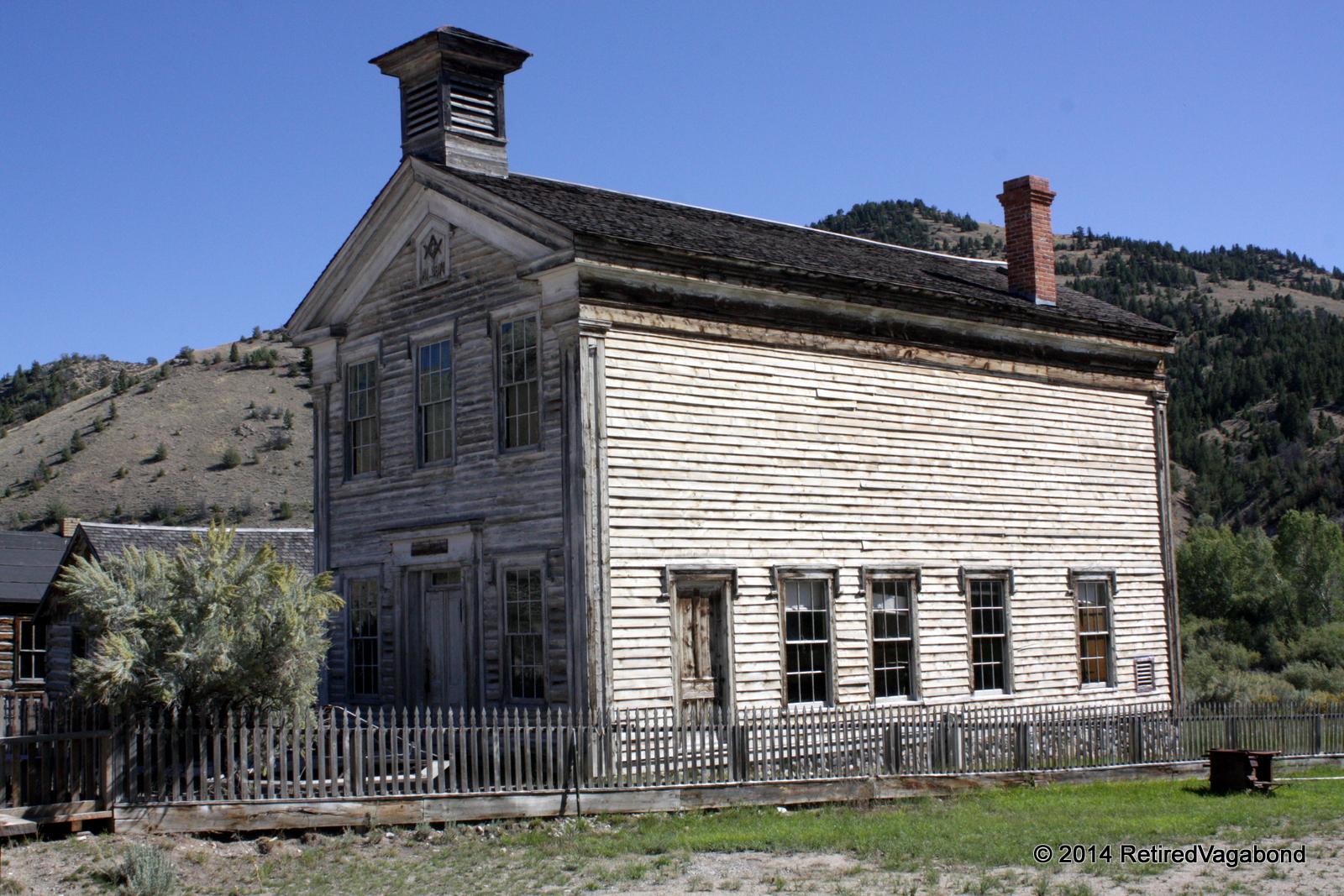 The School House, Bannack State Park, MT