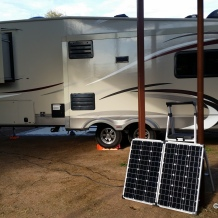 Solar Panel at work