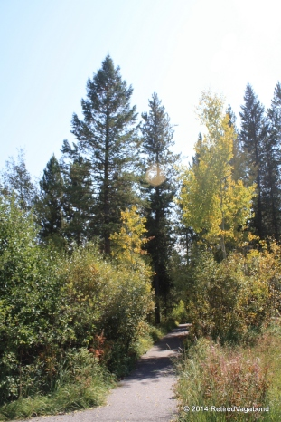 Hiking to Upper Mesa Falls