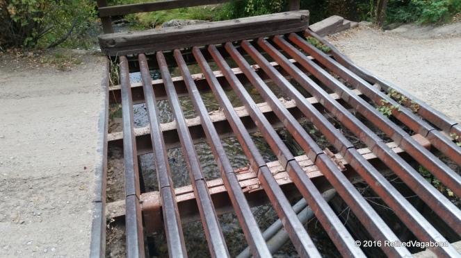 Mill Creek - Bridge at entrance