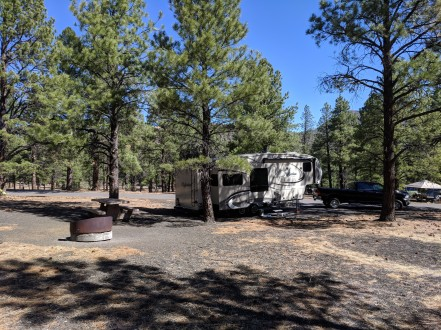 Our Camp Below Sunset Crater
