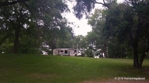 Campsite Hood Park