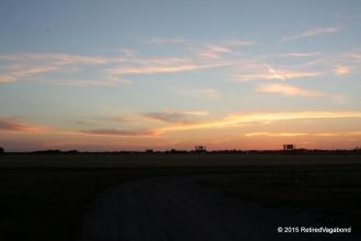 Sunset Texola Oklahoma