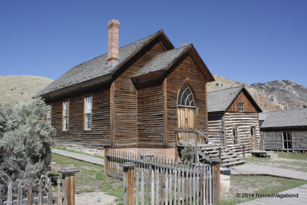 The Church, Bannack Ghost Town