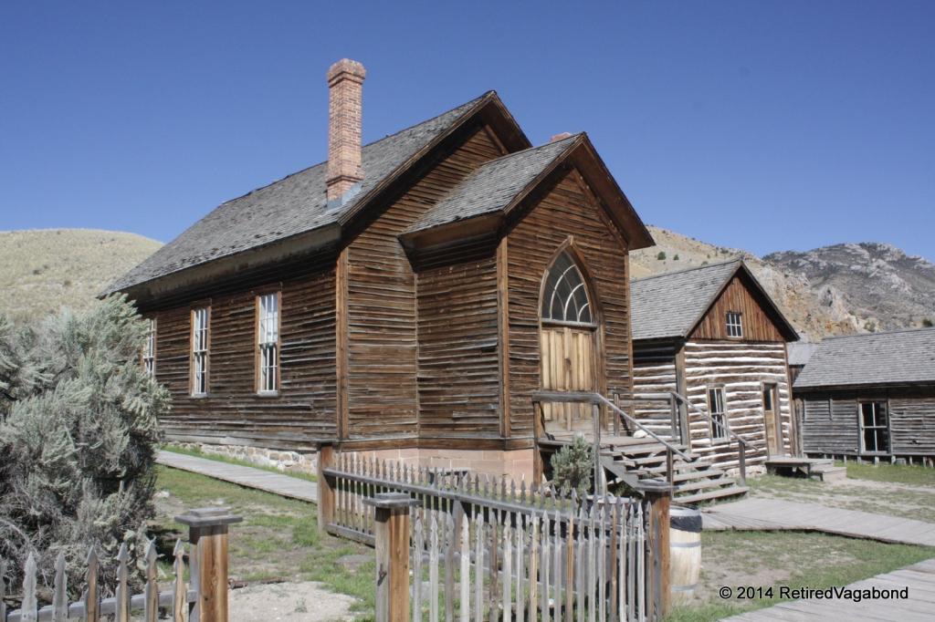 The Church, Bannack Ghost Town