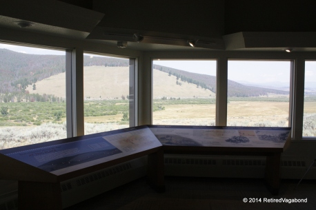View of the Battlefield from the Visitor Center