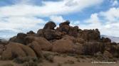Rock formations Alabama Hills