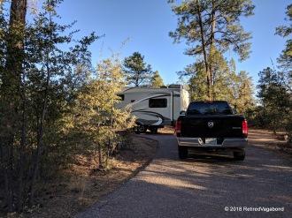 Houston Mesa Capground in Payson, AZ