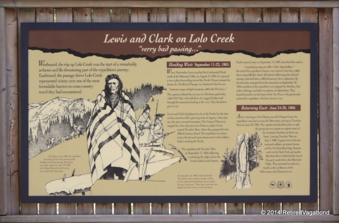 Lewis and Clark a very bad passing marker.