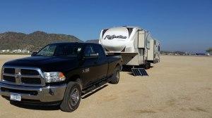 Dry Camp Lake Pleasant
