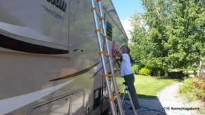 Working on the Coach