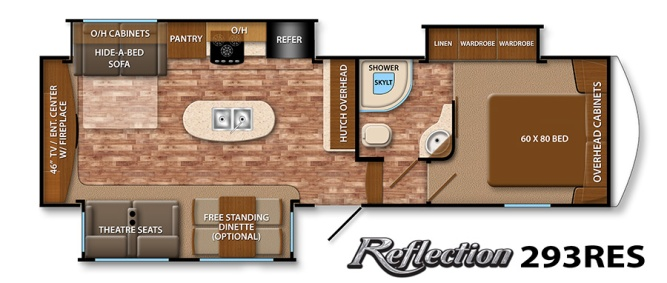 Reflection 293 Floorplan