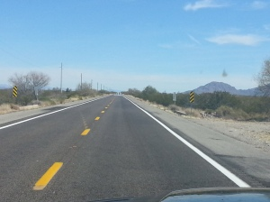 Hwy 60, Miles of, well not much, but beautiful in it's own way
