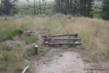 US Calvary Canon stood here