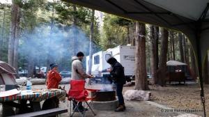 Morning Campfires