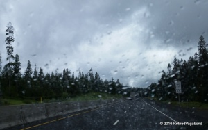 Rainy Drive to Washington