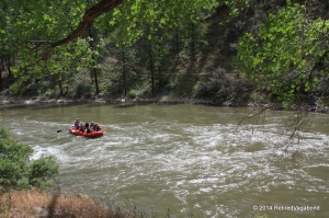 Rafting near Shoups' Store